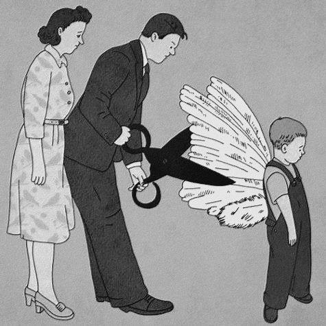 Cum sa spui nu celor care vor sa iti taie aripile